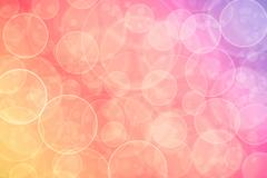 Abstract on a colorful background digital bokeh effect Stock Illustration