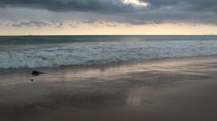 Beautiful sunset at andaman ocean. Stock Footage