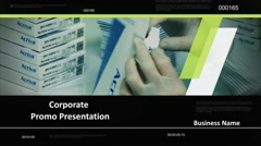 Corporate  Promo Presentation - stock after effects