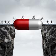 Medicine Solution - stock illustration