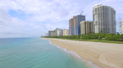 Beautiful Bal Harbour Beaches Stock Footage