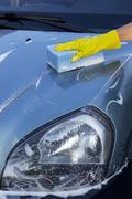 a car wash - stock photo