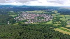 Wiesbaden-Naurod, Rheingau-Taunus area Stock Footage