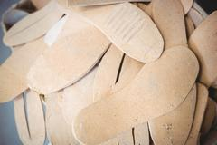 Close-up of insole in abundance Stock Photos