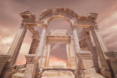 Ephesus Ruins Izmir,Turkey - stock photo