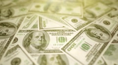 Dream to have a lot of money Stock Footage
