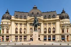 Revolution Square In Bucharest - stock photo