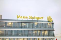 Trade fair Stuttgart - stock photo