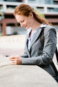 Business - Mobile Communications Stock Photos
