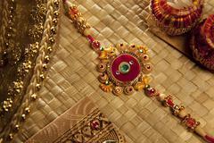 Close-up of Rakhi Stock Photos