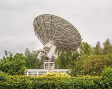 The Lovell Telescope, Cheshire, UK - stock photo