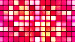 Broadcast Twinkling Hi-Tech Cubes 04 - stock footage