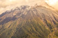 Large Plume Of Ash And Steam From The Tungurahua Volcano Stock Photos