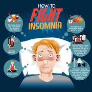 How to Fight Insomnia Piirros