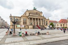 Gendarmenmarkt: Konzerthaus Berlin - stock photo