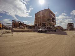 Ruins Cities After The Powerful Earthquake, Ecuador Stock Photos