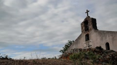 Rural Country Church. Stock Footage