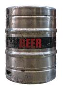 Isolated Metal Beer Keg Stock Photos