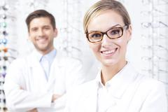 Eye care is our passion - stock photo