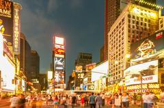 New York - SEPTEMBER 5, 2010: Times Square on September 5 in New Stock Photos