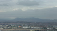 Time Lapse of Las Vegas Mountains Stock Footage