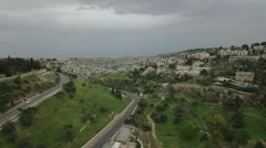 Jerusalem - Hennom Valley - stock footage