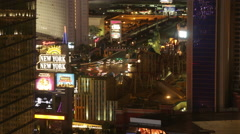 Time Lapse of New York Hotel Las Vegas, NV Stock Footage