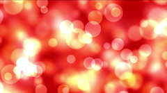 4k Abstract fireworks light dots background,bubble particles,bacteria spores. Stock Footage