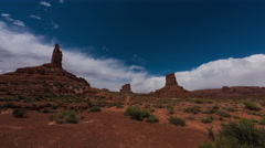 Valley of the Gods 8k Time-lapse Stock Footage