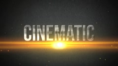 Cinematic Action TItles Stock After Effects