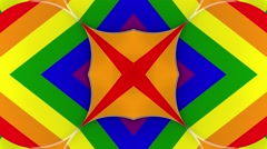 Gay pride abstract background - stock footage