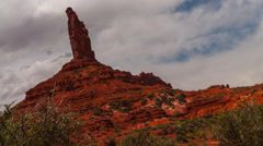 Valley of the Gods 4k Time-lapse hyperlapse Stock Footage