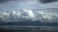 Clouds time lapse sea beach beautiful storm timelapse 4k ocean landscape Arkistovideo