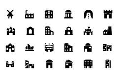 Building Vector Icons Set Piirros
