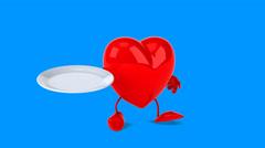 Heart - Computer animation Stock Footage