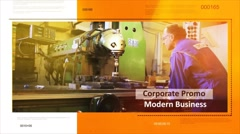 Corporate Promo -  Modern Business - stock after effects