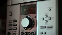 the volume control - stock footage
