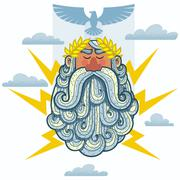 Zeus - stock illustration