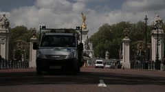 The Queen Victoria Memorial. London, England - 1080HD Stock Footage
