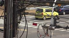 Traffic Telecom Technology Progress - stock footage