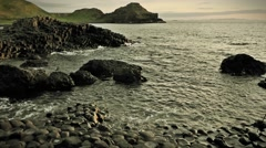 Giant´s Causeway, Northern Ireland Stock Footage