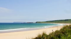 White Park Bay, Northern Ireland Stock Footage