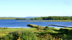 Lower Lough Erne, Northern Ireland Stock Footage