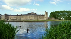 Enniskillen Castle, Fermanagh County, Northern Ireland Stock Footage