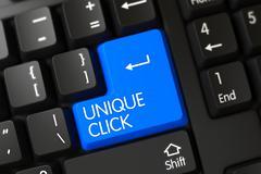 Unique Click Button Stock Illustration