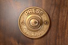 Doorbell - stock illustration
