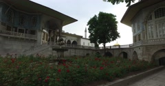Topkapi Palace  an architectural monument and museum Stock Footage