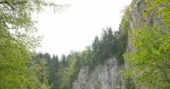 4K, Propast Macocha Cave, Slovakia Stock Footage