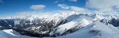 Hohe Tauern Alpine Panorama - stock photo