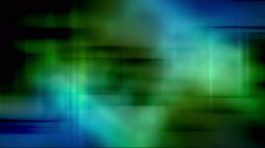 Blue green harsh color soft motion Stock Footage